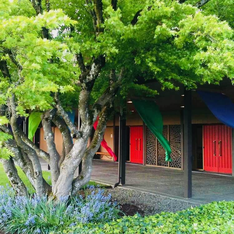 Art Photo-Spring Church Color